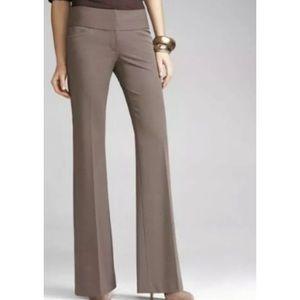 Express Sz 6 EDITOR FIT Brown Career Dress Pants